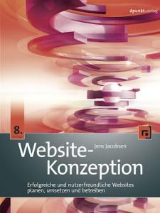 Buchcover Website-Konzeption