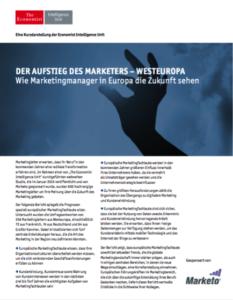 Cover Studie Marketo Bedeutung des Marketing wächst