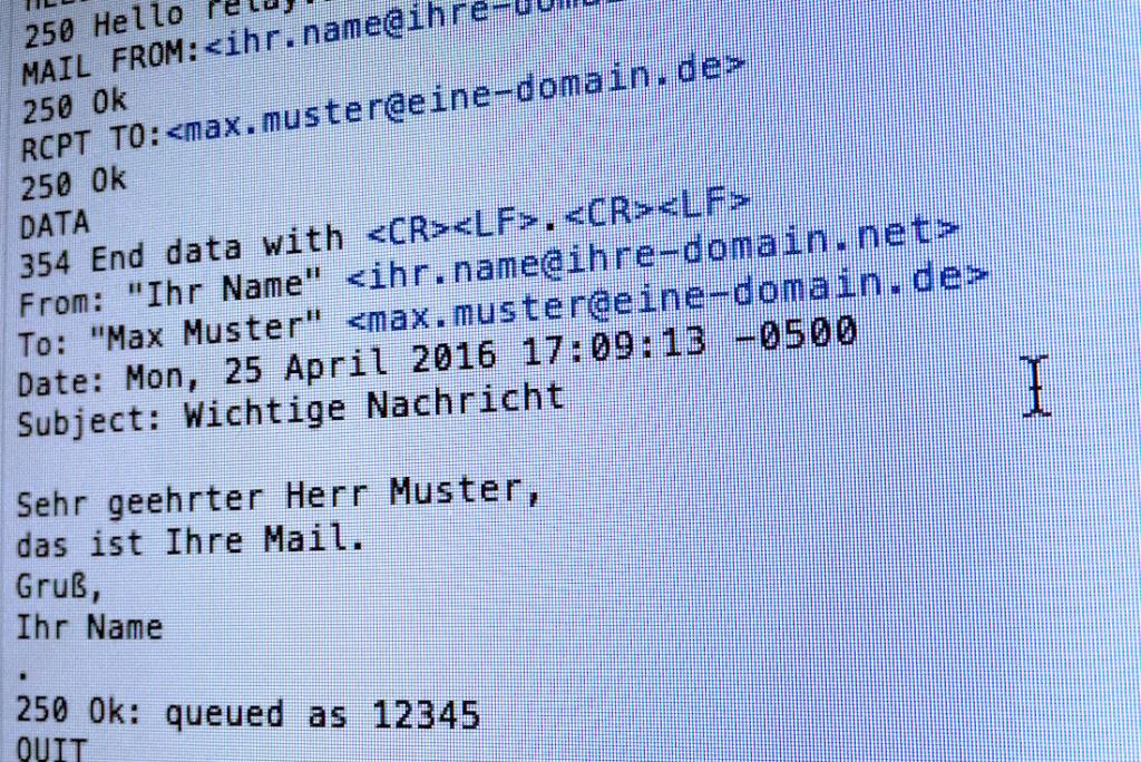 E-Mail-Technik für Nicht-Techniker