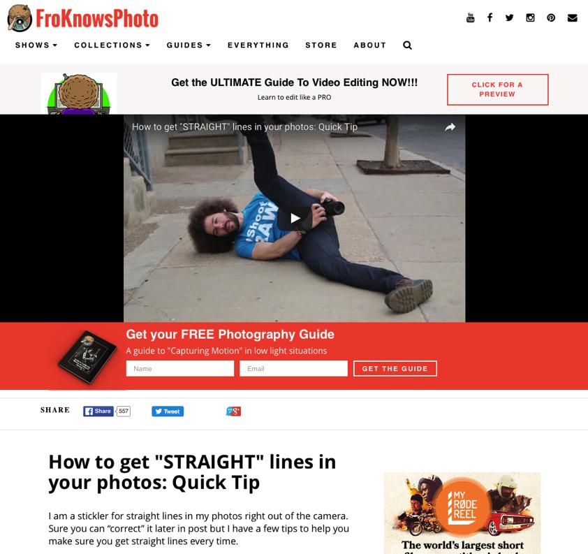 Mit schrägen Videos zu 200.000 Abonnenten