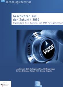 Cover Bericht Geschichten aus der Zukunft VDI