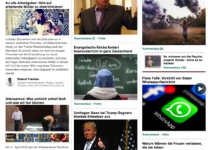 Screenshot Website Huffington Post