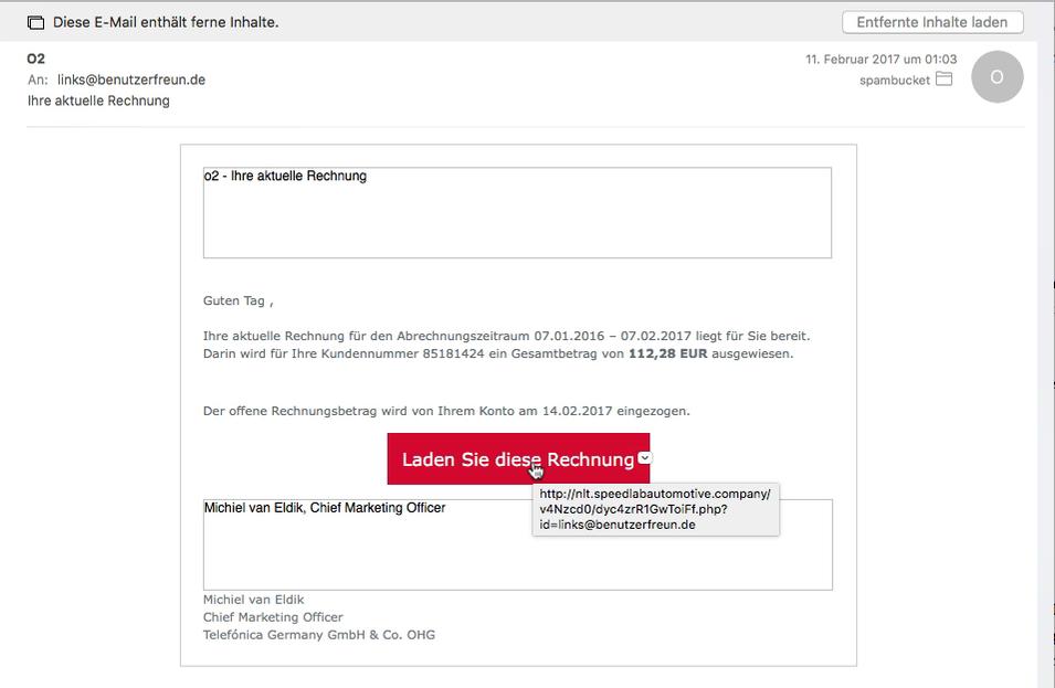 Wie wir in die Phishing-Falle tappen