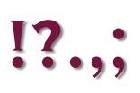 Welche Satzzeichen konvertieren am besten?