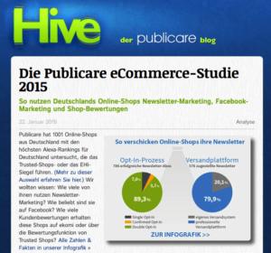 Screenshot Blog Pubicare