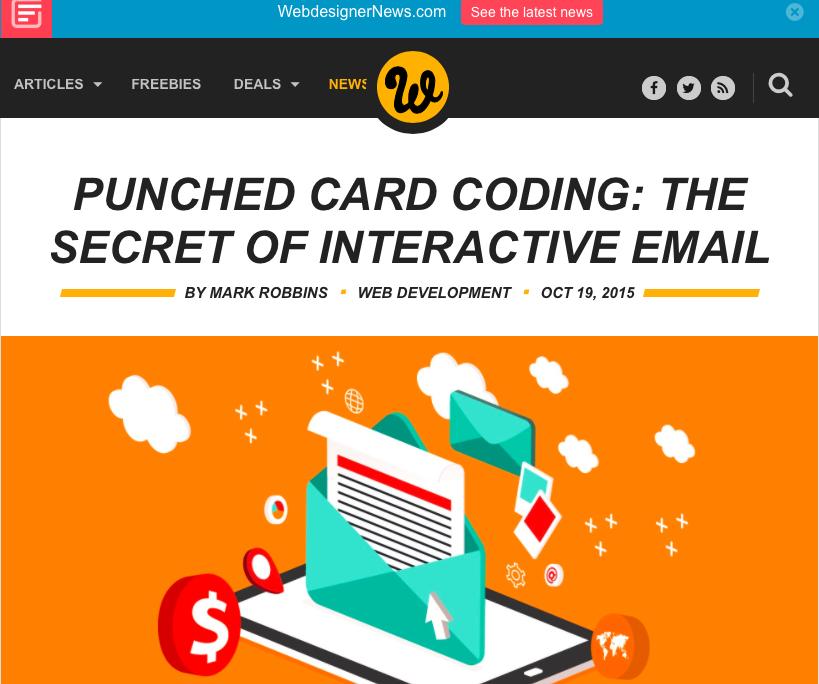 Interaktive E-Mail – geht das heute schon?