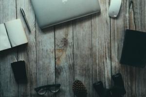 Foto Schreibtisch