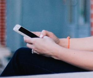 Foto iPhone in Gebrauch