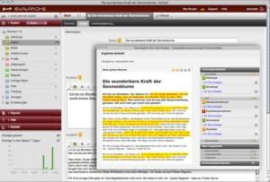Live-Textanalyse für optimierte Inhalte