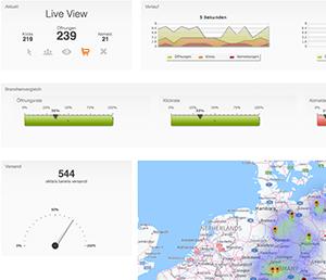 Live-Tracking und Statistik