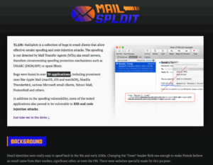Screenshot Website Mailspolit