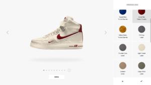 Screenshot Personalisierung Nike - Ein Beispiel für Hyperpersonalisierung