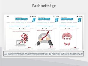 Content Marketing Fachbeiträge auf Partner-Websites