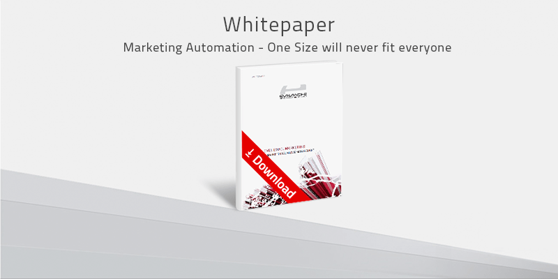 Whitepaper Marketing Automation: One size will never fit everyone