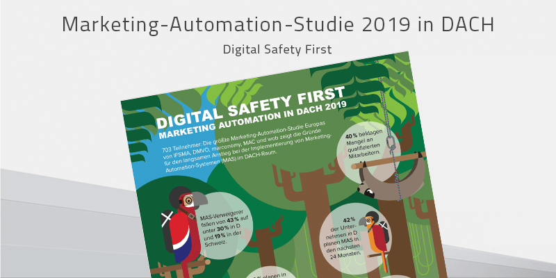 Marketing-Automation-Studie 2019 in DACH: Digital Safety First