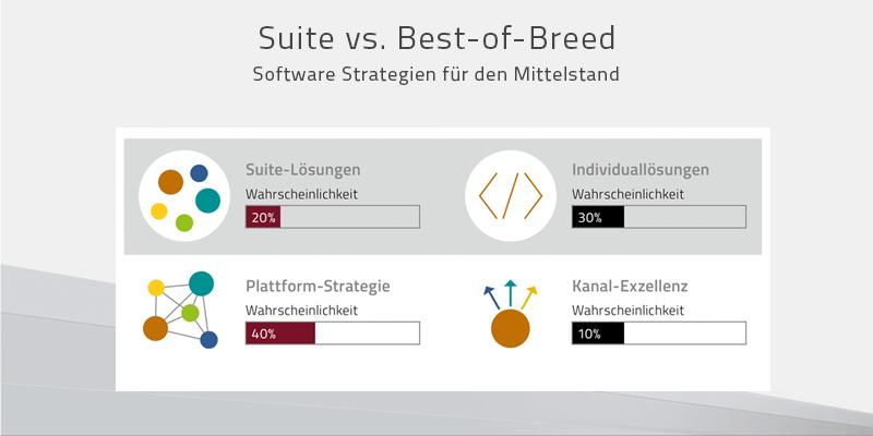 Suite vs. Best of Breed – Software Strategien für den Mittelstand