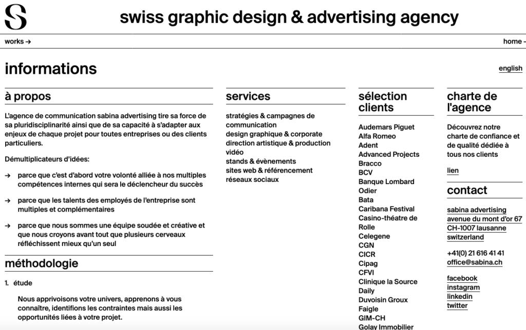 Brutalismus Website Design Trend 2019
