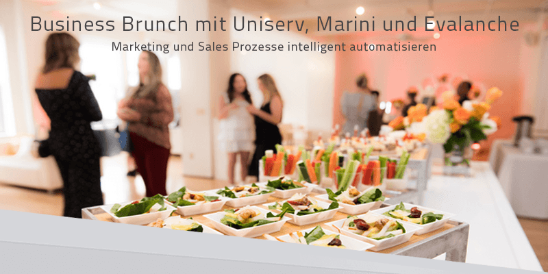 Business Brunch: Marketing und Sales Prozesse intelligent automatisieren