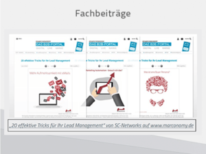 B2B Content Marketing Fachbeiträge auf Partner-Websites