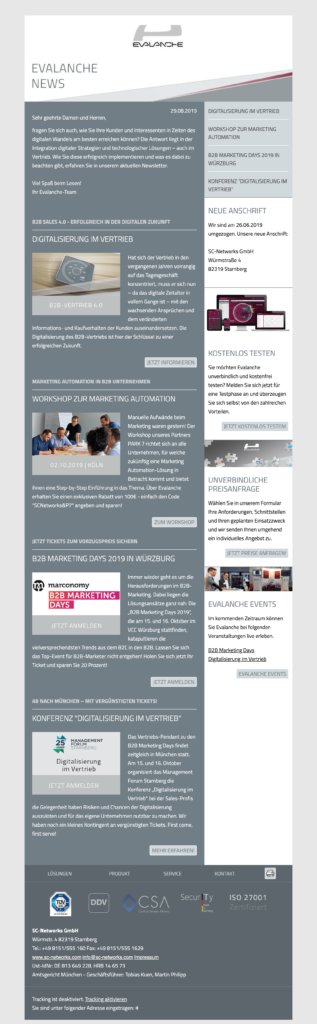 Newsletter erstellen Tipps