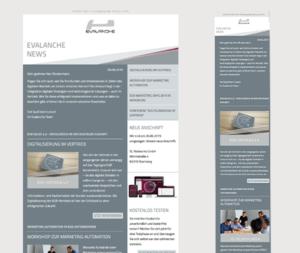 Newsletter erstellen Tipps - Responsives Design