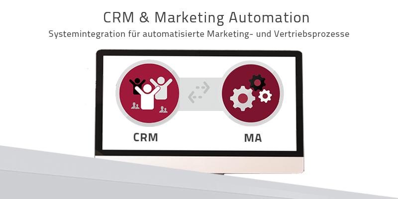 CRM- und Marketing Automation-Integration