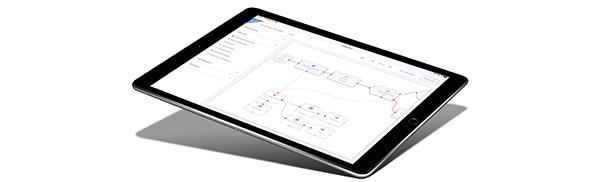 Evalanche Campaign Designer - iPad-Nutzung