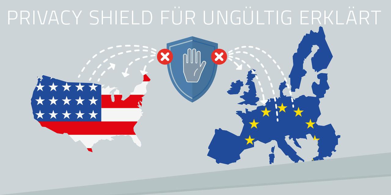 Privacy Shield ungültig – was bedeutet das für Unternehmen in Europa?