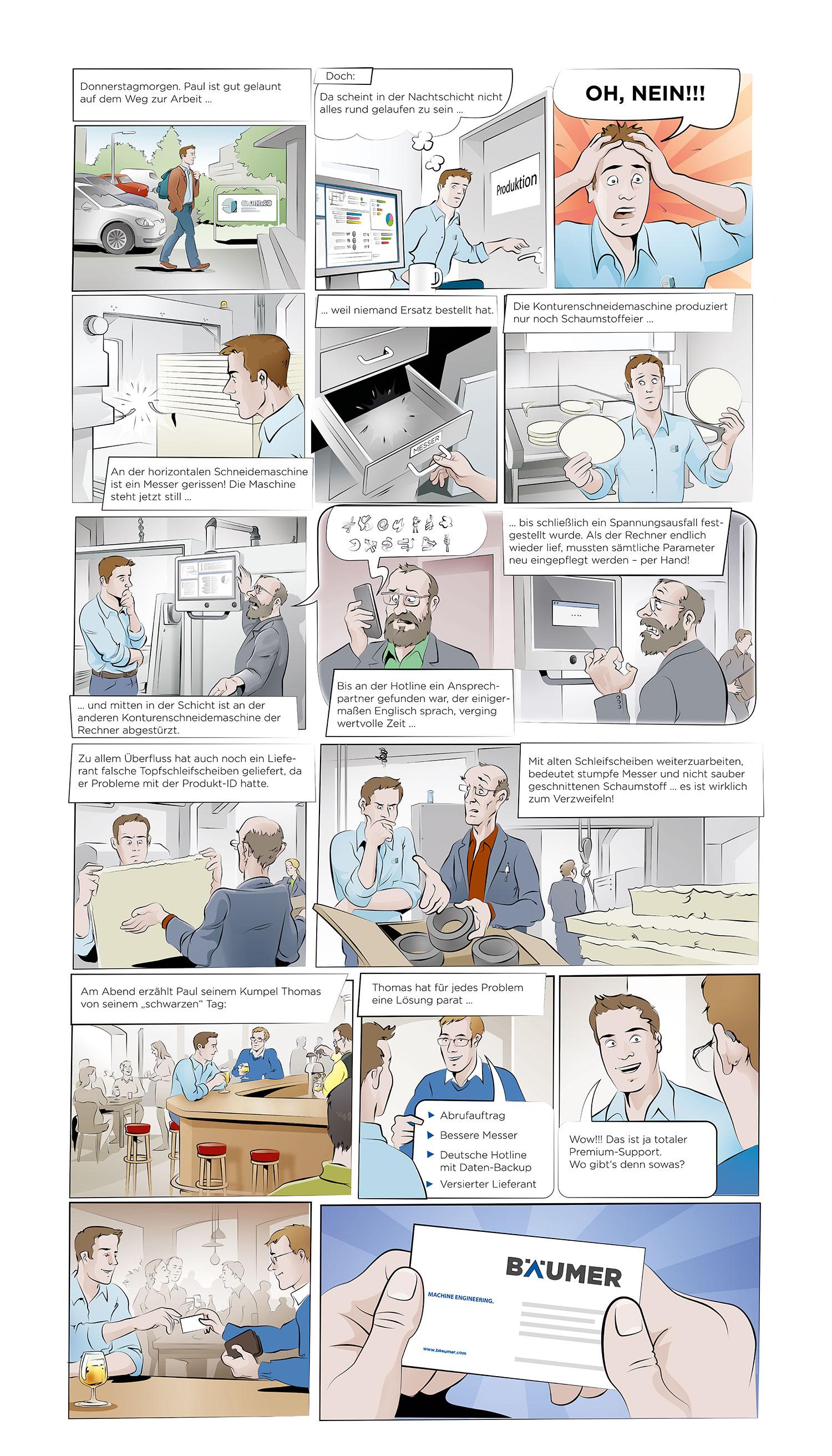 SC-Networks Anwenderbericht Bäumer - Comic
