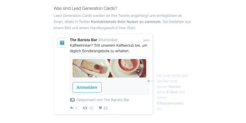 Twitter-Werbung für mehr Leads