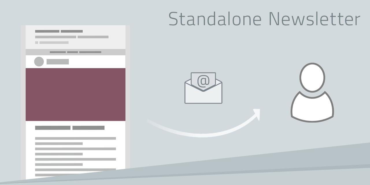 Tipps für die Gestaltung von Standalone Newslettern
