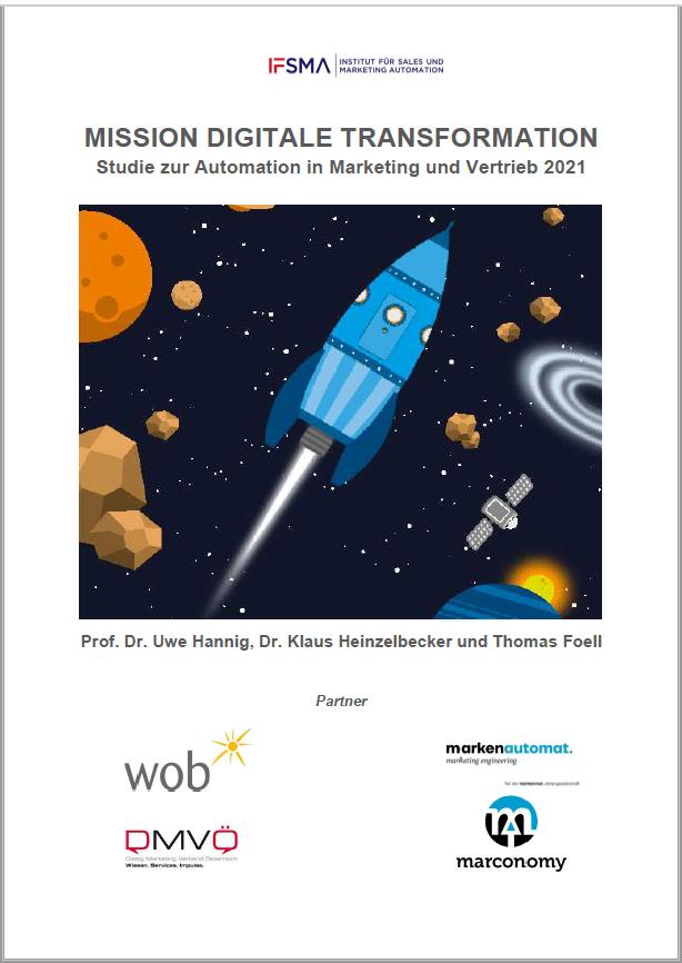 Screenshot Marketing Automation Studie 2021