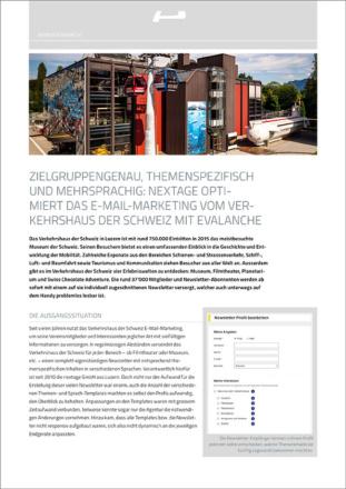 evalanche-nextage-schweizer-verkehrshaus-anwenderbericht-cover
