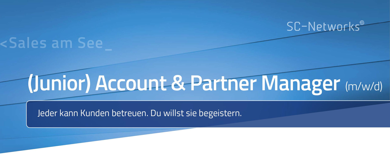 (Junior) Account & Partner Manager